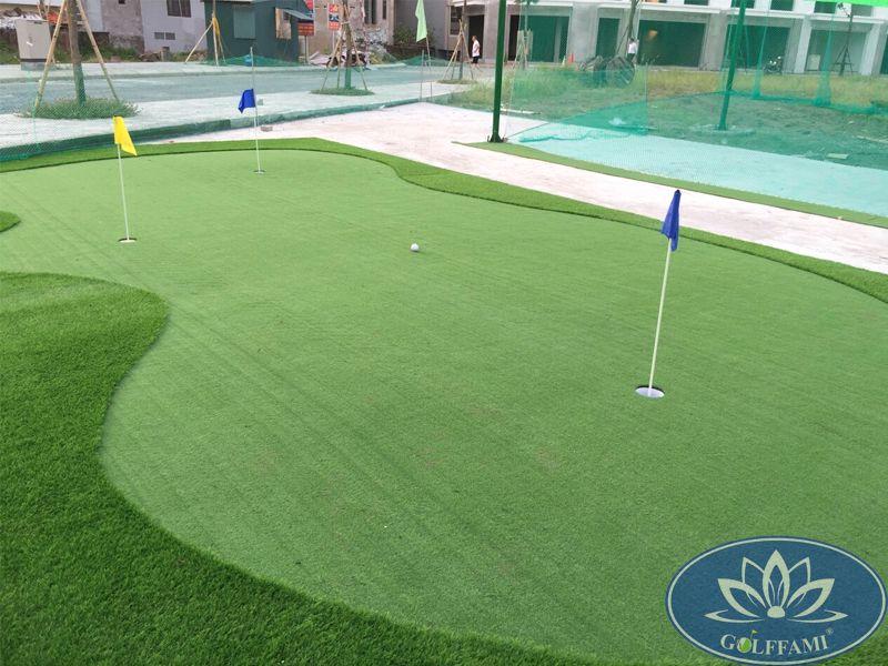 Golffami thi công Green mini tại Hưng Yên