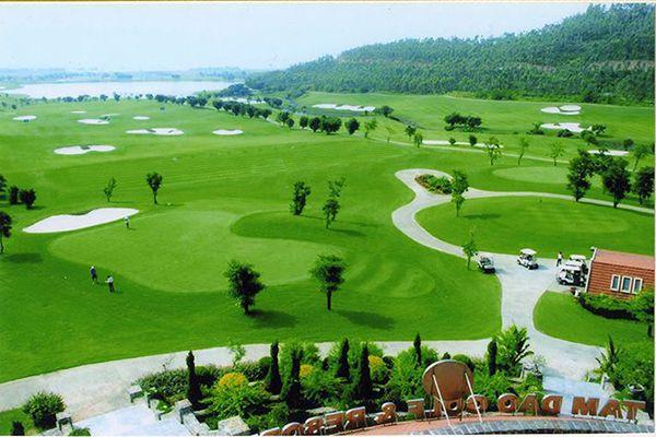 Đặc điểm sân golf tam đảo