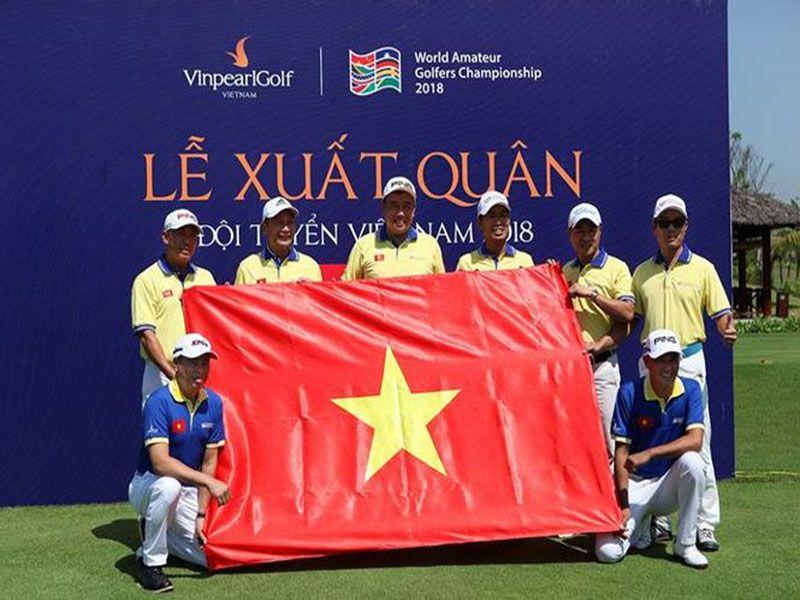 Đội tuyển Golf Việt Nam quyết bảo vệ chức vô địch WAGC 2018