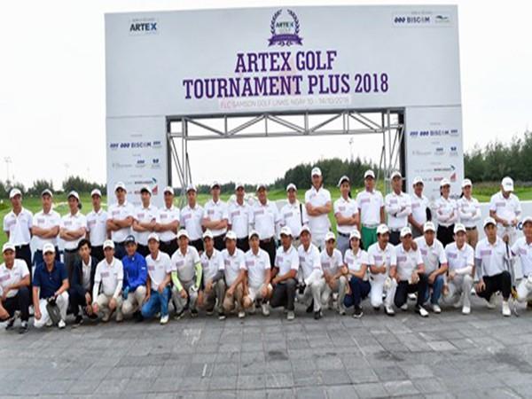 Giải Artex Golf Tournament Plus 2018 hơn 1000 golf thủ