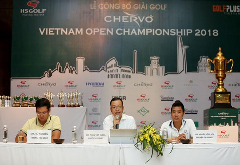 Giải golf Chervo Vietnam Open Championship 2018
