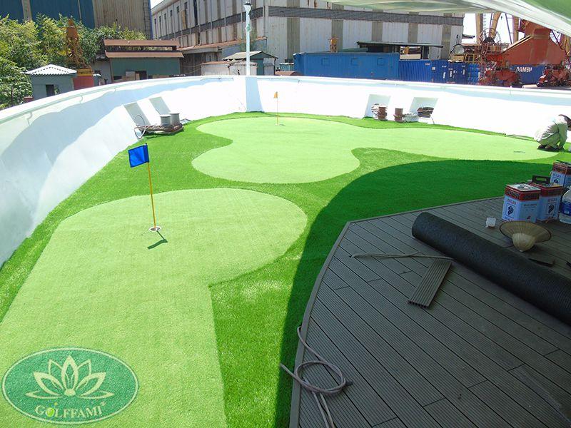Green golf mini du thuyền Quảng Ninh
