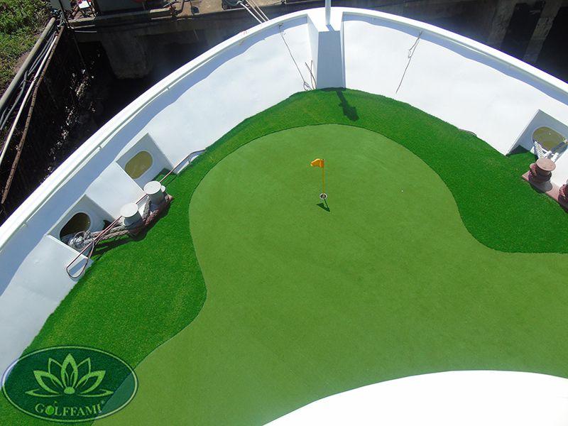 Thiết kế thi công Green golf trên du thuyền tại Quảng Ninh