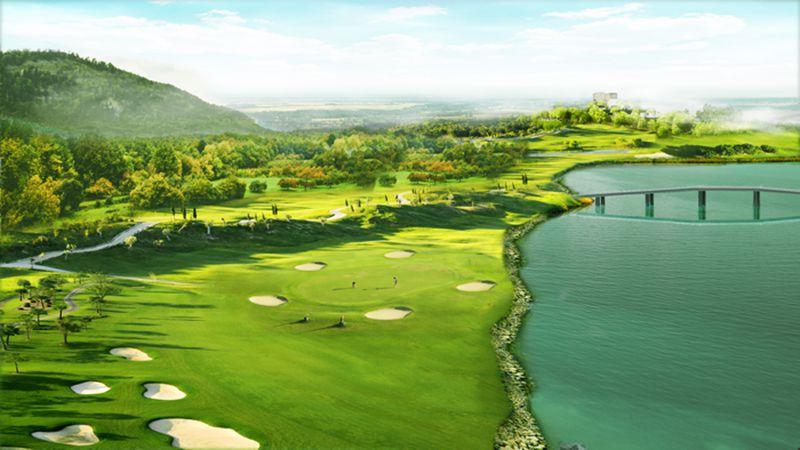 Bất động sản nghỉ dưỡng sân golf tại Yên Dũng Resort & Golf Club