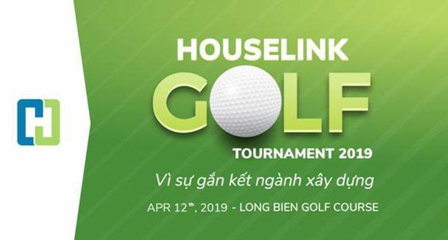 Giải Golf Houselink 2019 sự gắn kết ngành xây dựng