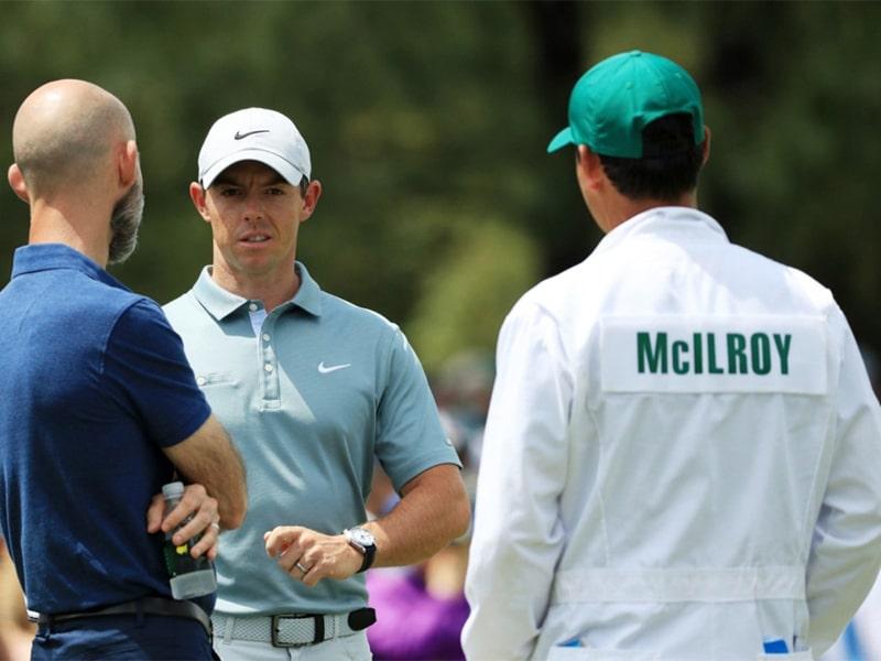 McIlroy tại giải đấu Masters