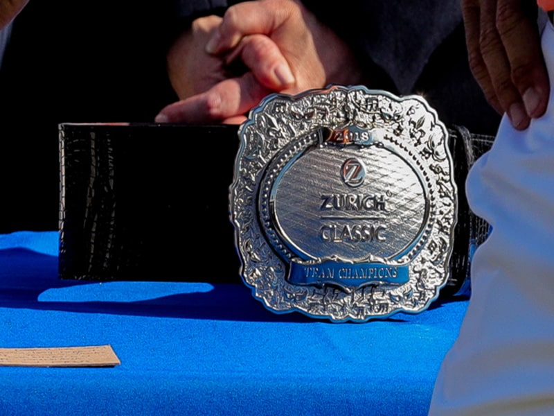Đai vô địch giải Zurich Classic năm 2019