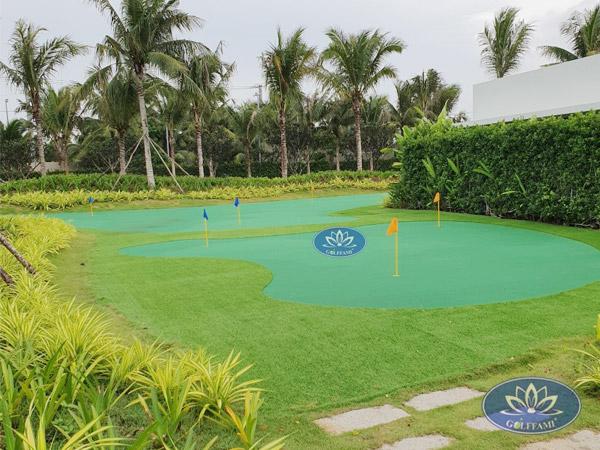 Thiết kế thi công sân tập golf tại Hồ Tràm