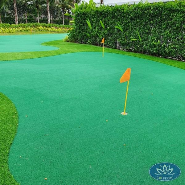 Thiết kế thi công Green golf tại Hồ Tràm