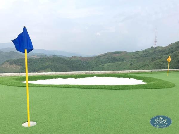 Dự án thiết kế thi công green golf tại Hòa Bình