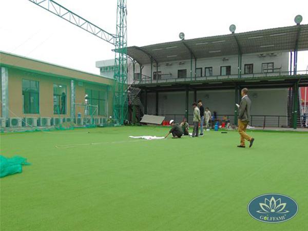 Dự án thi công sân tập golf tại dự án khu chung cư Nhật Bản FAMILLE Hà Nam