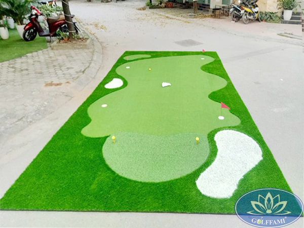 Thảm tập golf Gomip34