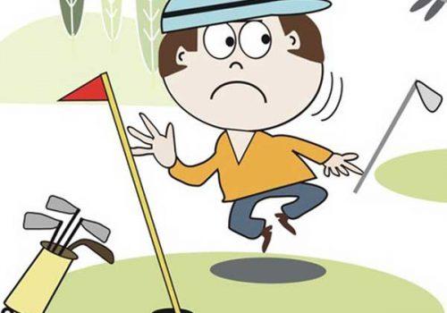 Những vấn đề golfer thường gặp phải khi lên sân