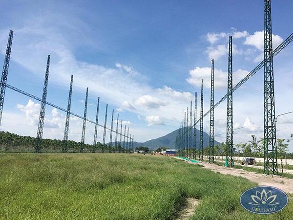Golffami thiết kế thi công sân tập golf Tây Ninh