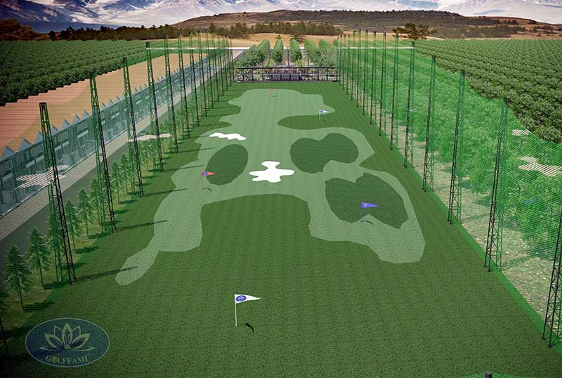 Thiết kế sân tập golf Tây Ninh