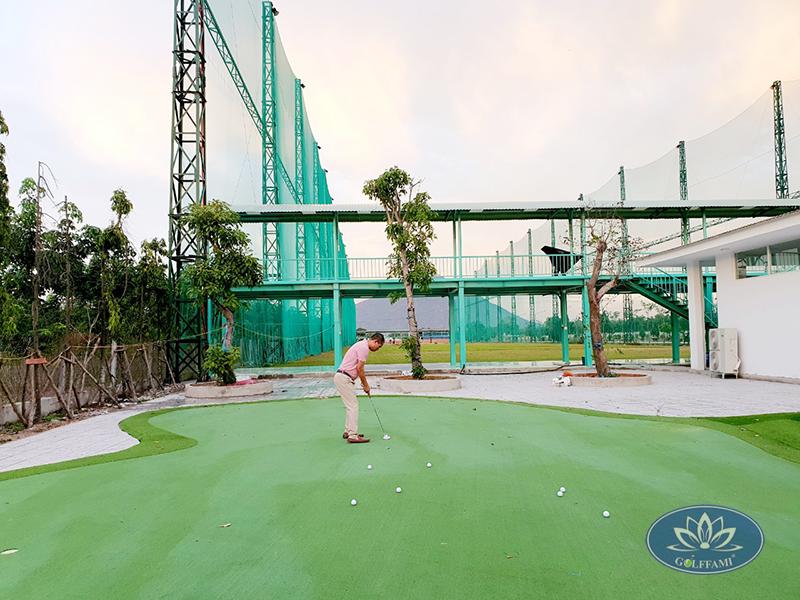Green golf sân tập golf tại Tây Ninh
