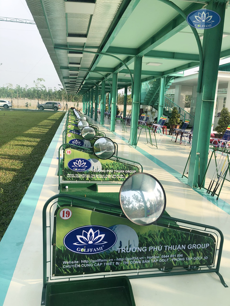 Line tập sân tập golf Tây Ninh