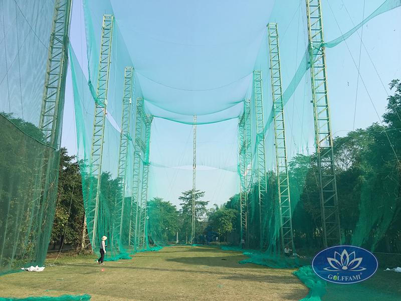 Thi công và cung cấp lưới golf flc Vĩnh Phúc
