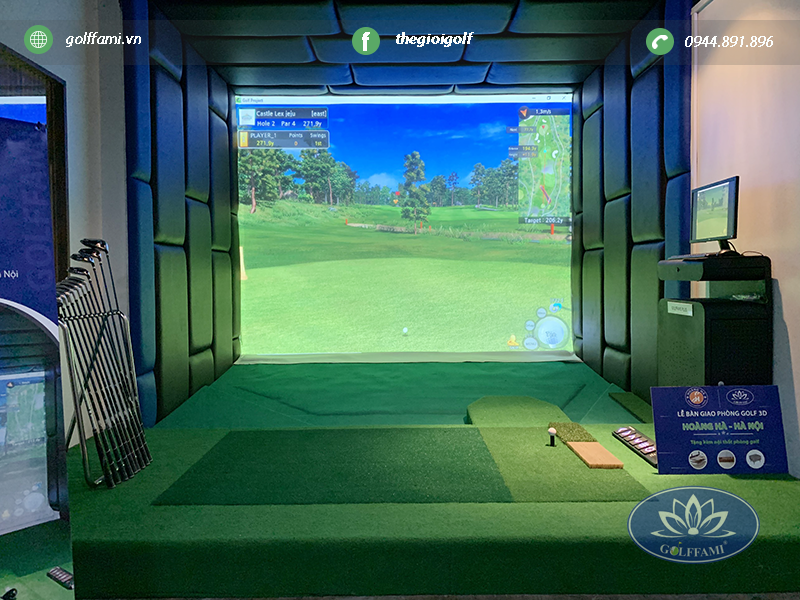 Dịch vụ chơi Golf 3D theo giờ ở Hà Nội